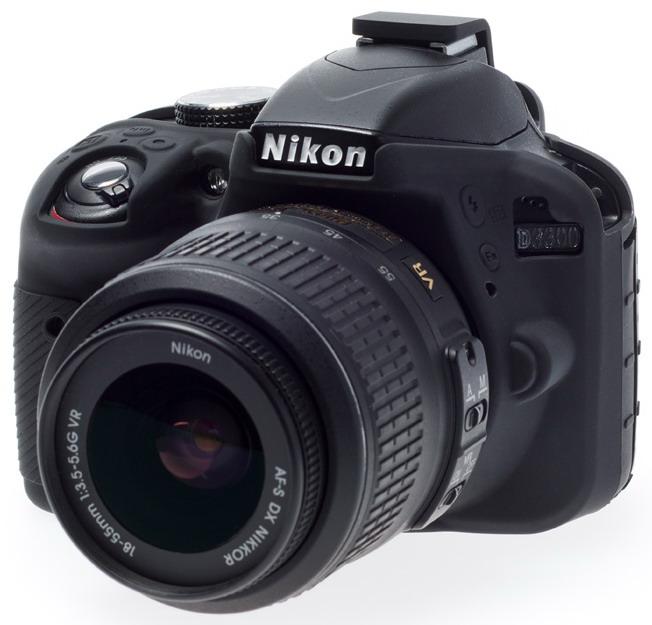 easyCover camera-bescherming voor Nikon D3300 en D3400
