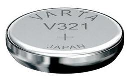 Varta V321 knoopcel batterij