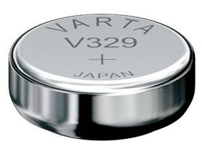 Varta V329 knoopcel batterij
