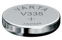 Varta V335 knoopcel batterij