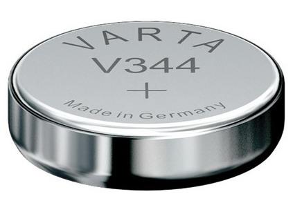 Varta V344 knoopcel batterij