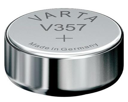 Varta V357 knoopcel batterij