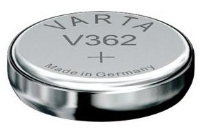 Varta V362 knoopcel batterij