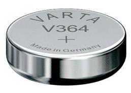 Varta V364 knoopcel batterij