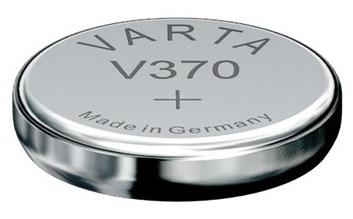Varta V370 knoopcel batterij