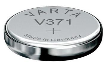Varta V371 knoopcel batterij