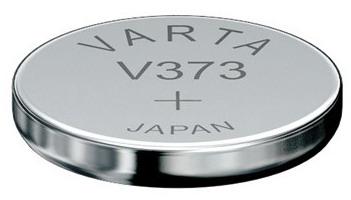 Varta V373 knoopcel batterij