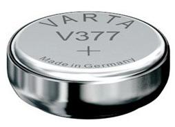 Varta V377 knoopcel batterij