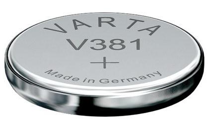 Varta V381 knoopcel batterij