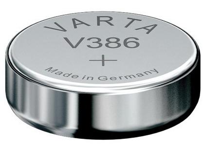 Varta V386 knoopcel batterij