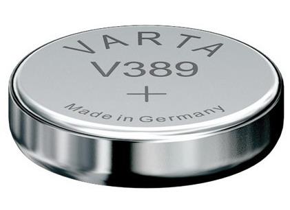 Varta V389 knoopcel batterij