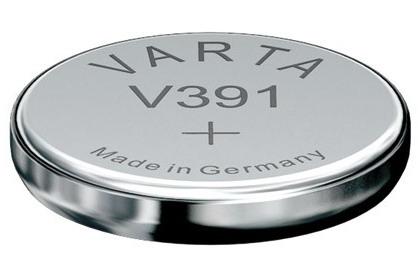 Varta V391 knoopcel batterij