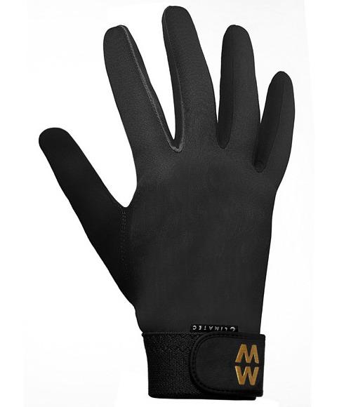 MacWet Climatec Long Foto handschoenen - Zwart - 7,5cm