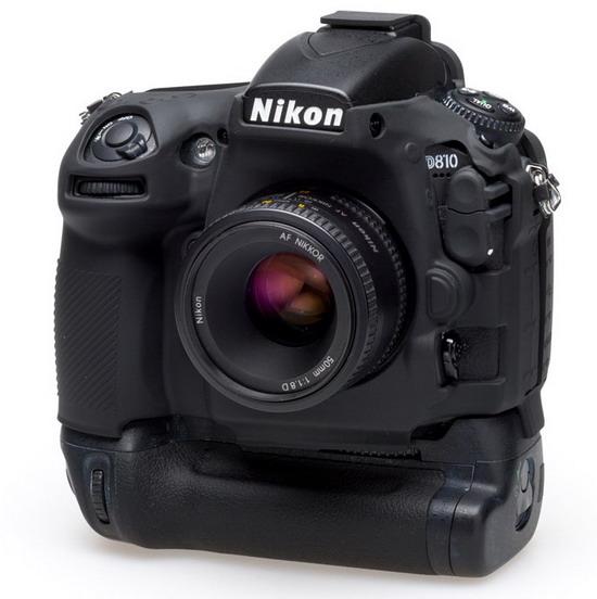 easyCover camera-bescherming voor Nikon D810 - batterygrip versie