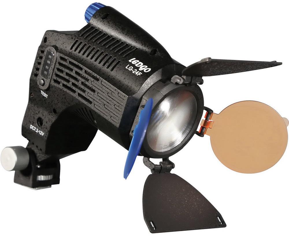 Ledgo LG-24F On Camera LED-lamp Fresnel