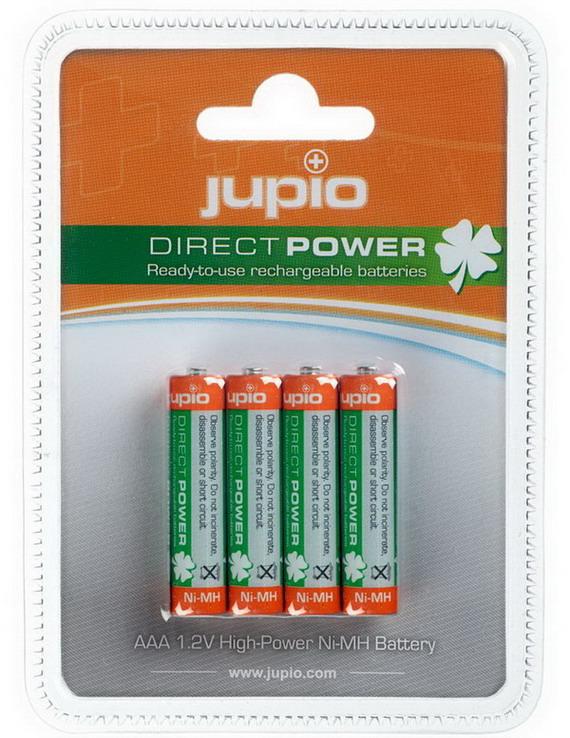 Jupio Batterij AAA 850mAh 4-Pak Oplaadbaar