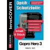 Lenscover bescherming GoPro Hero 3 - 6-stuks