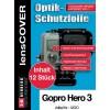 Lenscover bescherming GoPro Hero 3 - 12-stuks