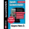 Lenscover bescherming GoPro Hero3+ - 12-stuks