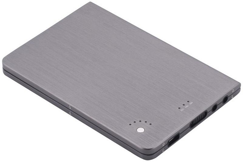 Krachtige externe accu voor laptops en mobiele apparaten
