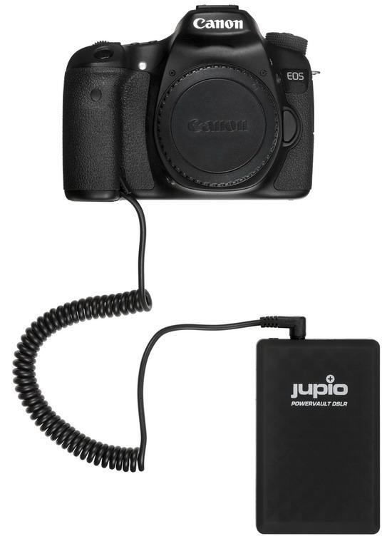 JUPIO POWERVAULT DSLR CANON LP-E6