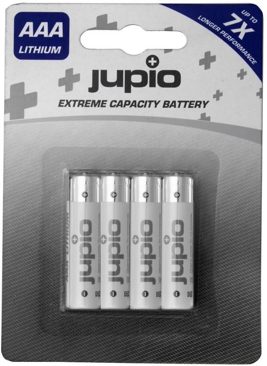 Jupio AAA Lithium batterijen - 4 stuks