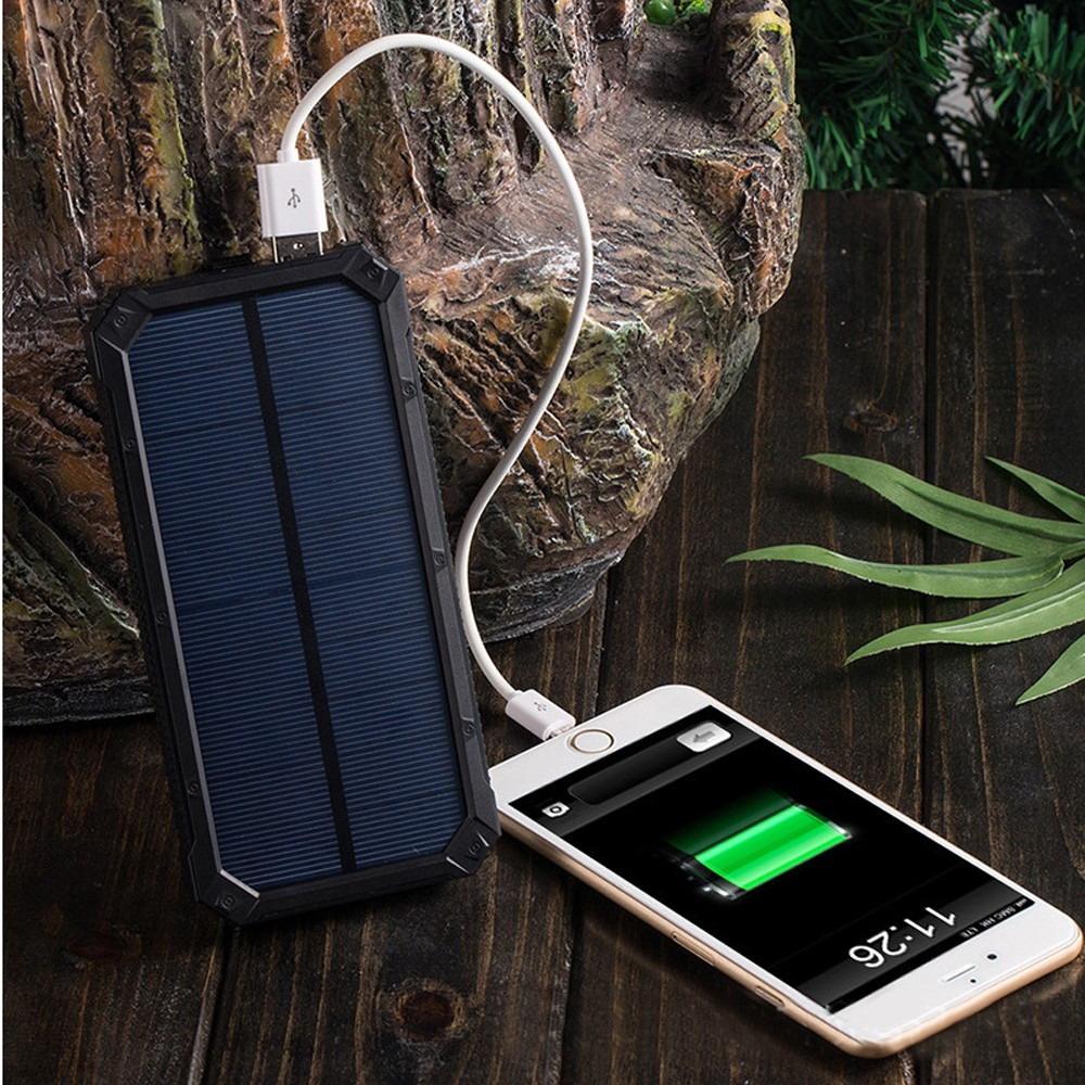 Powerbank externe accu - Extra Power - Solar - 20.000mAh