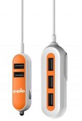 Jupio 5 poorts USB autolader - 5 x 2,4A