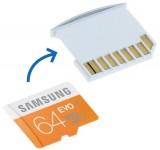 MicroSD Adapter + 64GB Samsung geheugen voor MacBook Air 13