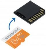 MicroSD Adapter + 64GB Samsung geheugen voor MacBook Pro 13