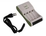 Snellader voor AA en AAA batterijen