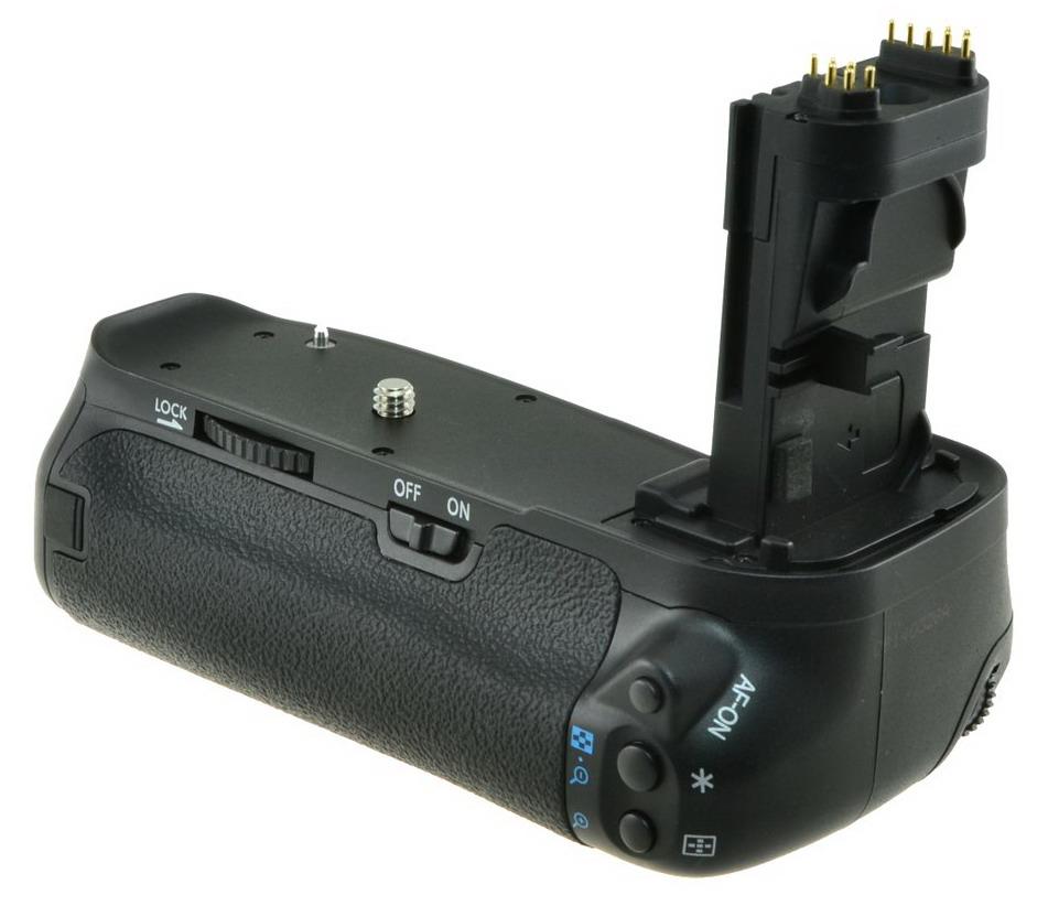 Chilipower Batterygrip voor Canon EOS 60D (BG-E9) + afstandsbediening