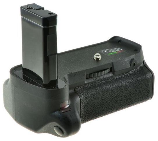 Chilipower Batterygrip voor Nikon D3100-D3200-D3300-D5300 + afstandsbediening