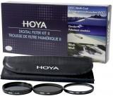 Hoya Digital Filter Kit II 55mm - UV, Polarisatie en NDX8 filter