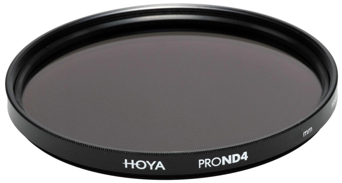 Hoya Grijsfilter PRO ND4 - 2 stops - 58mm