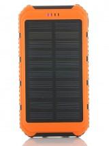 Powerbank externe accu - Extra Power - Solar - 10.000mAh - Oranje