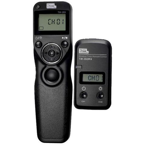 Pixel Timer Remote Control Draadloos TW-283-DC2 voor Nikon