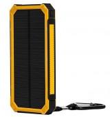 Powerbank externe accu - Extra Power - Solar - 20.000mAh - Geel