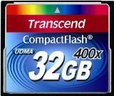 Transcend CF geheugenkaart - 32GB - 400x - Premium