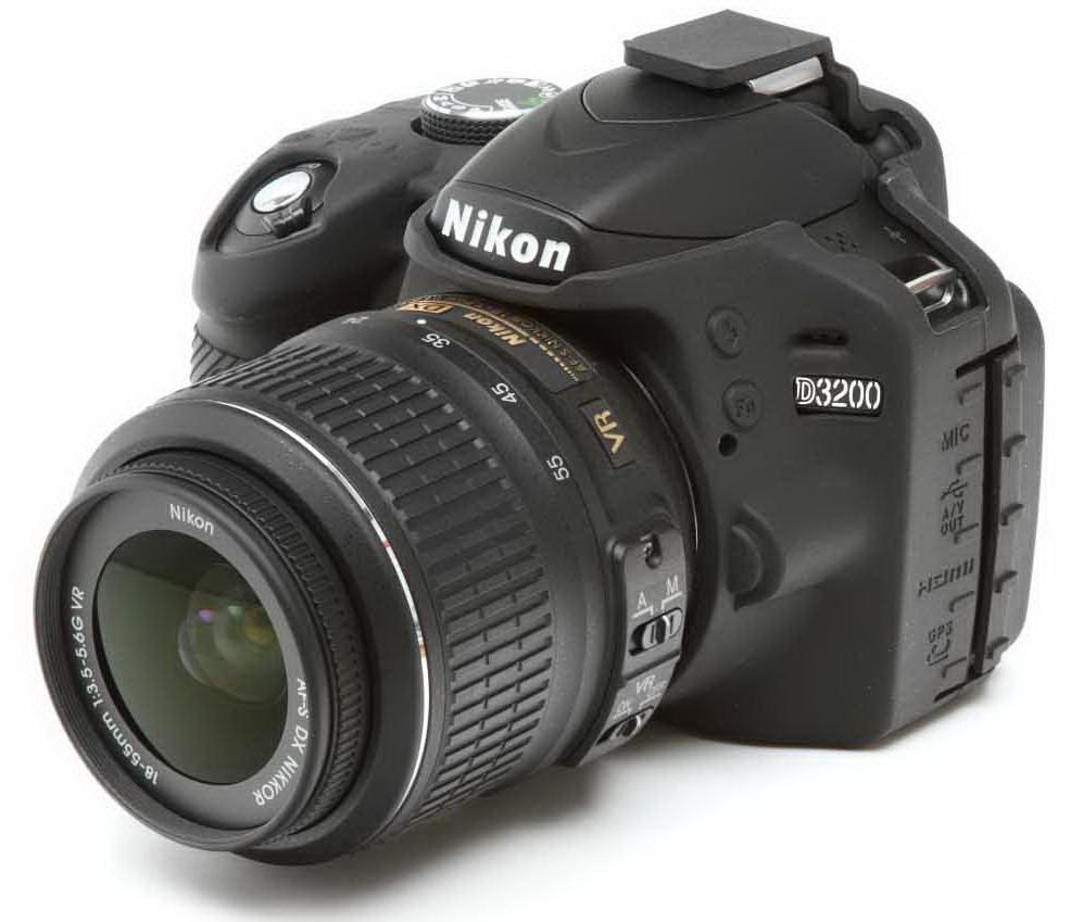 easyCover camera-bescherming voor Nikon D3200