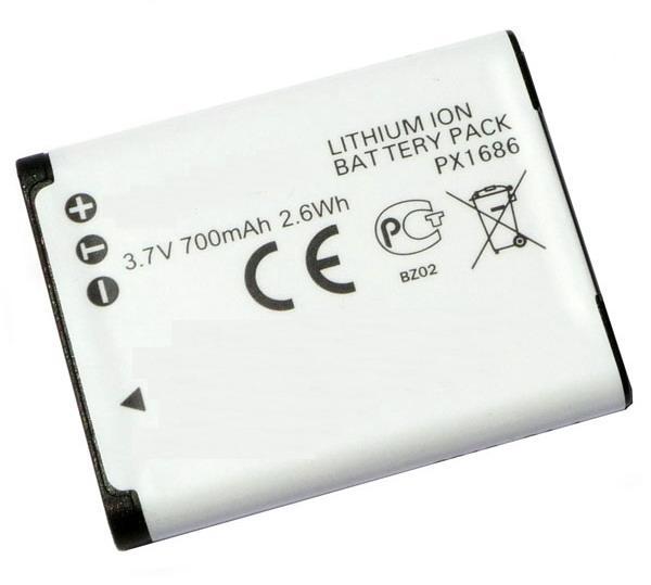 Camera-accu PX1686 voor Toshiba