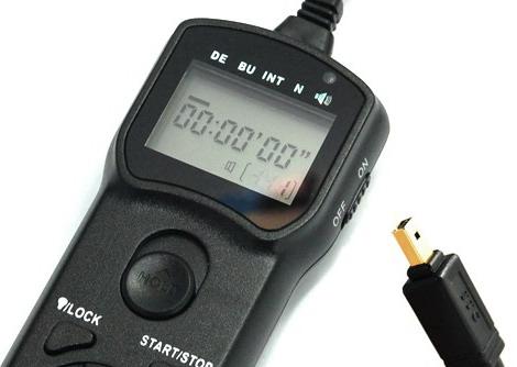 JJC Wired Timer Remote Controller TM-G (Nikon MC-DC1)