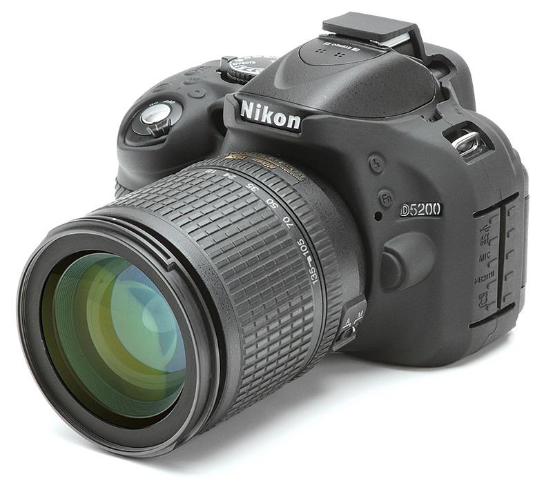 easyCover camera-bescherming voor Nikon D5200