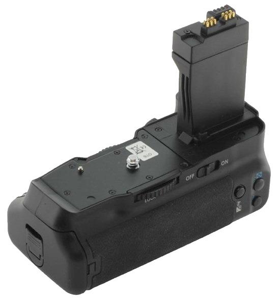 Battery-grip BG-E8 voor Canon EOS 550D, 600D, 650D, 700D Inclusief afstandsbediening