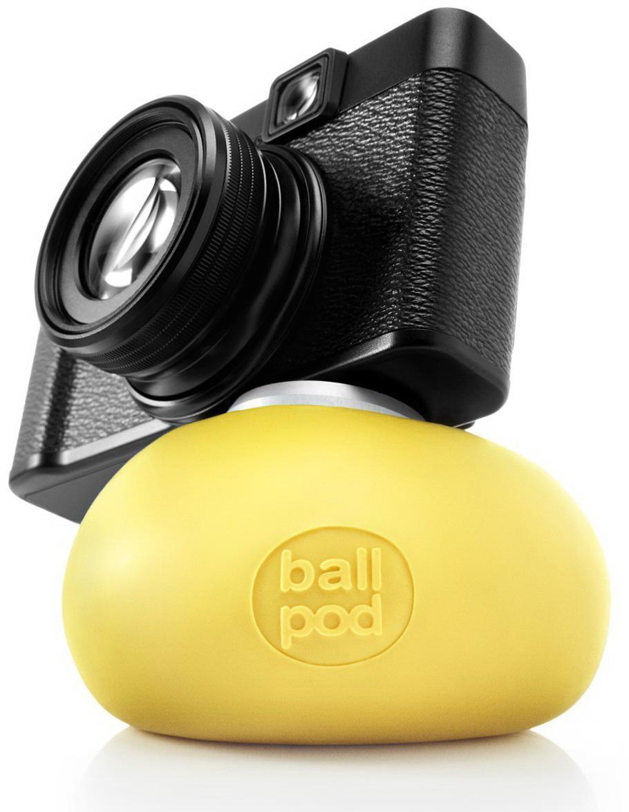 Image of Ballpod - 8cm - Geel